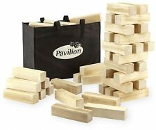 Pavilion Giant Tumbling Tower like Jenga Building Blocks Game Night Group