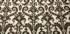 LACEFIELD DESIGNS MARRAKESH COBBLESTONE BROWN BLUE BATIK IKAT FABRIC BY THE YARD