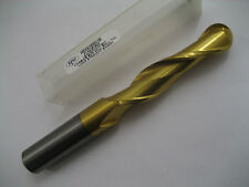 18mm SOLID CARBIDE 2 FLT L/S COATED BALL NOSED SLOT DRILL EUROPA 3143081800  #38