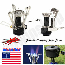 Mini Portable Outdoor Camp Picnic Gas Butane Propane Canister Stove Burner OHY