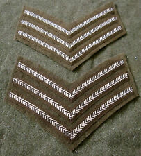WWI BRITISH CANADIAN COMMON WEALTH ARMY SERGEANT TUNIC JACKET CHEVRONS