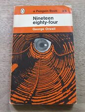 NINETEEN EIGHTY-FOUR by George Orwell - Penguin PB 1963  -  1984 - Big Brother