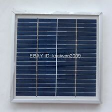18V 166MA 3W solar panel power 12v battery solar glass plate module charger cell