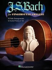 J.S. Bach for Fingerstyle Ukulele, , Very Good Book