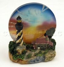 Decorative Light House Design Tea Light Holder w/ Translucent Glass Skyline