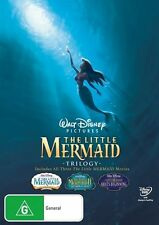 The Little Mermaid 3 MOVIES COLLECTION (DVD, 2008, 4-Disc Set) R/4