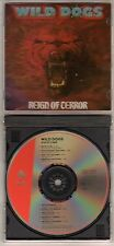 WILD DOGS: REIGN OF TERROR CD ENIGMA RECORDS RARE PRINTING ERROR MICHAEL FURLONG