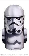 Star Wars Stormtrooper Domed Tin Money Bank with arms by Tin Box Company New