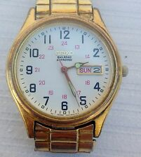 Vintage Seiko 'Railroad Approved' Arabic Numeral Dial Watch Free Shipping!