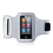 Shocksock Grey Reflective Armband Sports Gym Jogging Case for iPod Nano 7