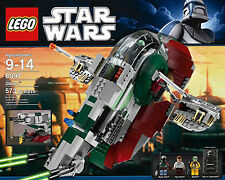 NEW SEALED LEGO STAR WARS 8097 Boba Fett's Slave 1 XLNT RARE