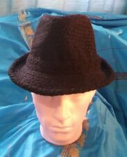 Black pEAKY BLINDERS/GanGstar Trilby all *NEW*  Fancy Dress/CosPlay/Festivals