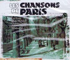 CD NEU/OVP - Les Chansons De Paris - Leo Ferre, Mick Micheyl u.a.