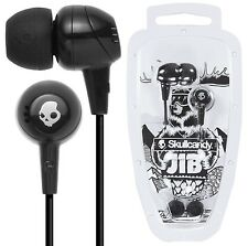 Skullcandy JIB S2DUDZ-003 BLACK In Ear Headphones Earphones Original / Brand New