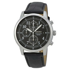 Seiko Stainless Steel Chronograph Mens Watch SNDC33