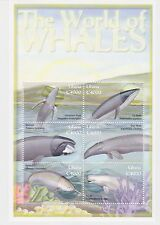 Ghana - Whales, 2001 - Sc 2257 Sheetlet of 6 MNH