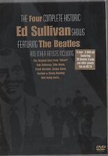 THE FOUR COMPLETE HISTORIC ED SULLIVAN SHOW THE BEATLES - 2 DVD NUOVO!!!