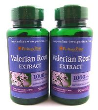 2X Valerian Root Extract 1000 mg 180 SoftGels