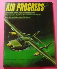 "AIR PROGRESS MAGAZINE MAY/1967..JAPANESE ARMY AIR FORCE FLEW  ""TEXANS"" TOO"