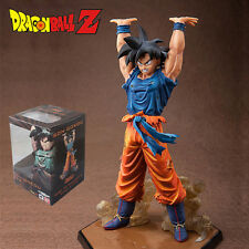 "Dragon Ball Z Son Goku Spirit Bomb Action Figure Doll 16CM 6.8"" Kids Toy Genki"