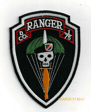 D Company 1st Battalion 75th Ranger Regiment Patch Fort US ARMY VET PIN UP GIFT