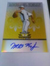 Michael Kelly 2012 Leaf Valiant Yellow Auto /10
