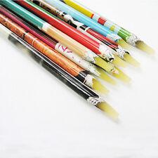 1Pc adhesive Maniküre Stift aus Wachs Harz Strass Edelstein aussortierend Stift