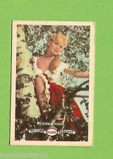 #D160. 1958-64  ATLANTIC PETROLEUM FILM STARS CARD #15  BRIGITTE BARDOT