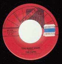 HEAR! Power Pop Punk New York 45 THE TAPES Too Many Stars on Panic