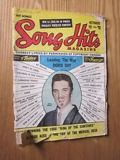 1956 Song Hits magazine October issue Elvis Presly on cover Doris Day