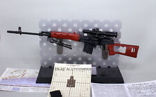 1/6 BattleField Weapon Gun RUSSIAN SVD Sniper Rifle Modern Warfare  wooden color
