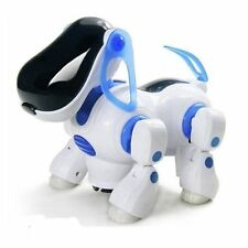 I ROBOT DOG Walking Nodding Children Kids Toy Robots Pet Puppy iDog Light BLUE
