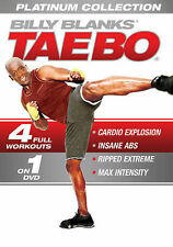 Billy Blanks: Tae Bo Platinum Collection New DVD! Ships Fast!