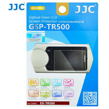 JJC GSP-TR500 Optical GLASS LCD Screen Protector Film for Casio TR500 Camera 2PK