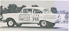 STAHL Total Tuned Headers 1957 Chevrolet 1/32nd Scale Slot Car Waterslide Decal