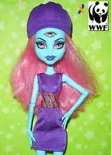 MONSTER HIGH CREATE A MONSTER THREE 3 EYED GHOUL ADD ON PACK PARTS DOLL 100% WWF