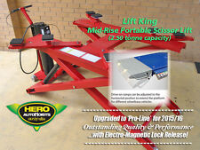 Mid-Rise 6000lb Portable Scissor Lift / Car Lift / Car Hoist / Workshop Hoist