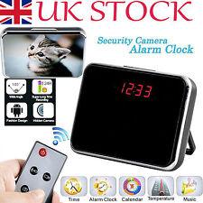 Digital Mirror video Clock Hidden Spy Camera Camcorder Motion Detection Sensor #