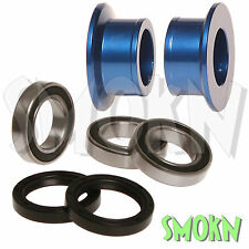 RFX Rear Wheel Spacer Bearing & Seal Kit Yamaha YZ 250 450 F YZF 09-15 Blue