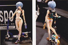 ANIME MODEL RESIN KIT - EVANGELION - REI  WITH ELECTRIC SCOOTER 1/5  - NUOVO