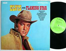 ELVIS PRESLEY SINGS FLAMING STAR RARE RCA INTERNATIONAL LP 1969 MINT-