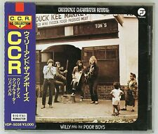 CREEDENCE CLEARWATER REVIVAL Willy And The Poor Boys CD JAPAN w  OBI VDP5038 '86