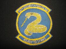 USAF 56th SECURITY FORCES SQUADRON Hand Made Patch