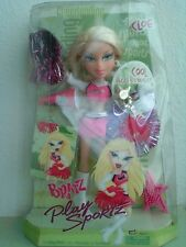 Bratz Girlz Girl Play Sportz Cheerleading Cloe Doll Cool Accessories New