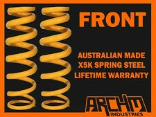 FRONT STANDARD HEIGHT COIL SPRINGS TO SUIT NISSAN MAXIMA J31 MY05 2003-09 SEDAN
