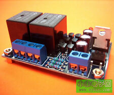 speaker amplifier board boot delay and DC detection protection circuit parts