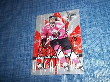 ITG O Canada Gillian Apps Team Canada Women's Hockey Autographed Card JOJOJJ
