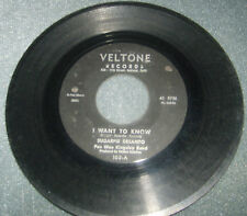 Sugar Pie Desanto Northern Soul  45 rpm  Veltone Record Label Vinyl