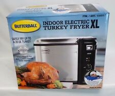 Masterbuilt XL Butterball Indoor Electric Turkey Fryer Steam Fry 20 lbs #as7yv
