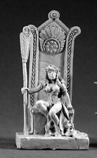 Queen Shanon Reaper Miniatures Dark Heaven Legends Barbarian Throne Sorceress